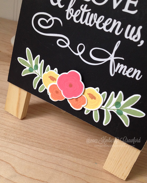 chalkboard easel cu by Kimberly Crawford