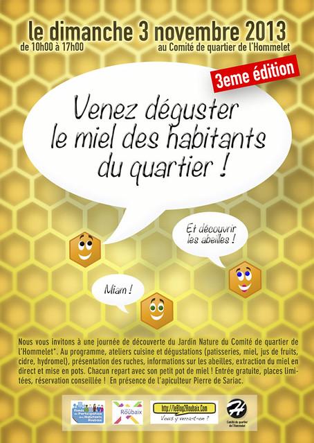 Fête du Miel 2013 à Roubaix