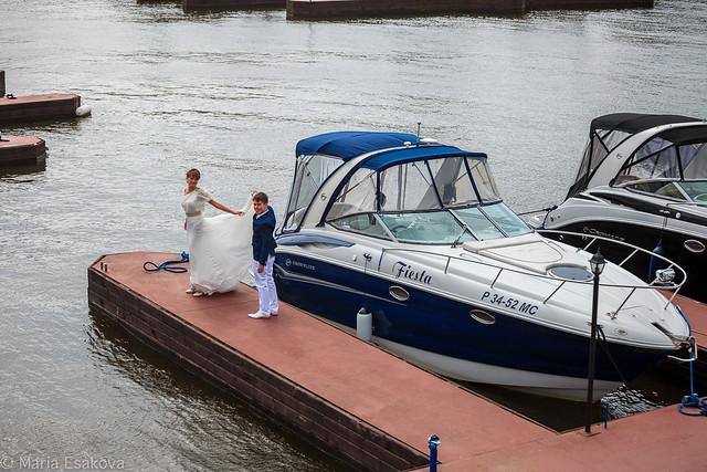 Свадьба в яхт-клубе Адмирал
