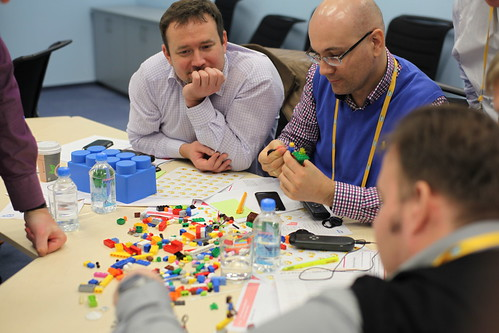 LEGO Serious Play business case: express exercise for SAP education initiative
