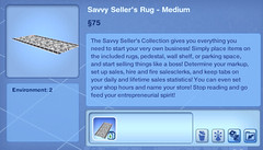 Savvy Seller's Rug - Medium