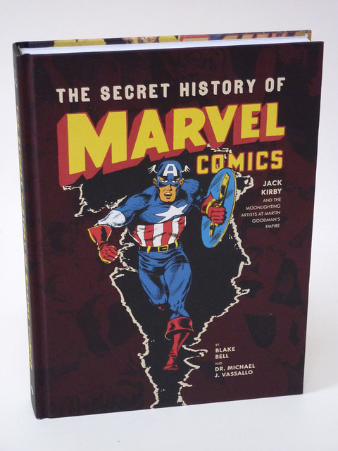 The Secret History of Marvel Comics cover photo