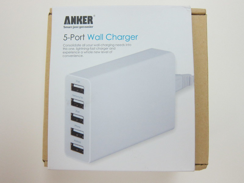 Anker 5-Port Wall Charger - Box Front