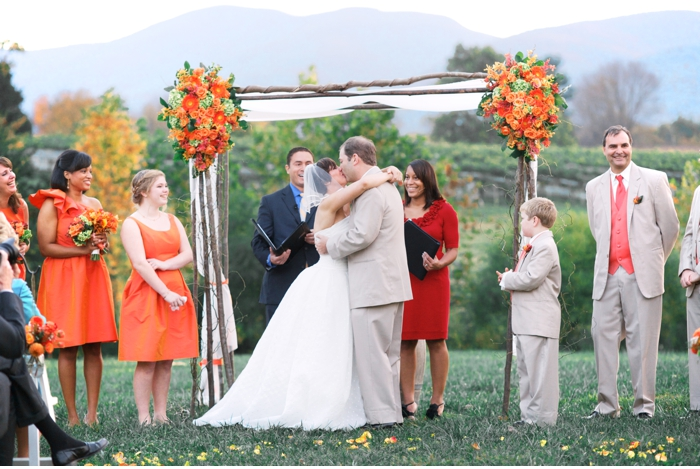 Veritas Vineyard & Winery wedding