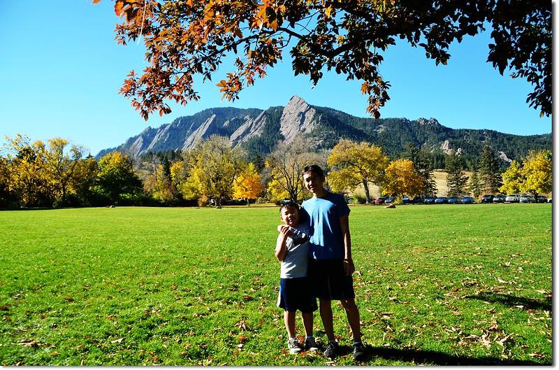 Chautauqua Park in Fall 10