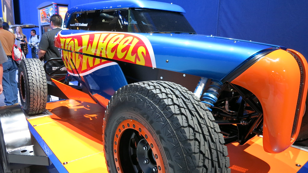 SEMA Show 2013 Day 1 Ford Hot Wheels