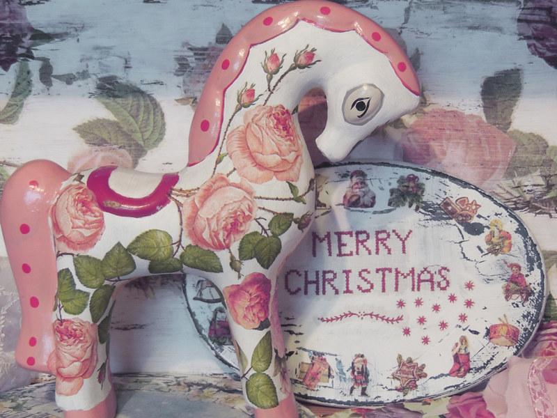 декор для новогодней фотосессии шебби шик 9
