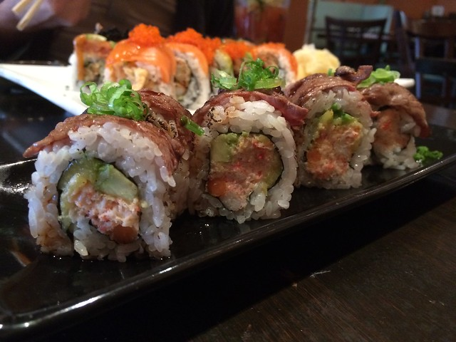 Japanese cowboy beef roll – Barracuda Sushi