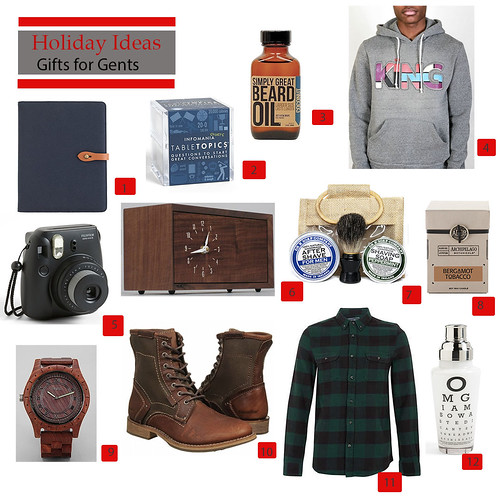 Holiday Gift Guide Gents