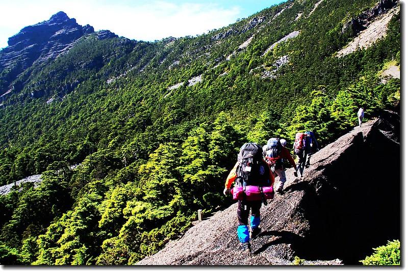 巴紗拉雲~布秀蘭山間瘦稜 2