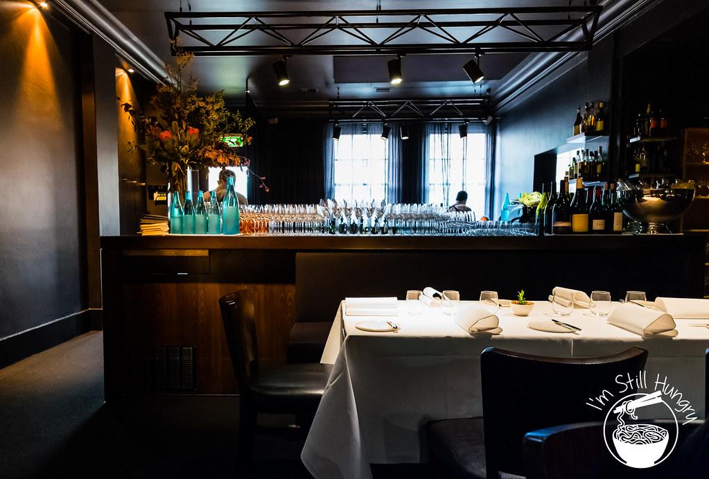 Attica restaurant bar area