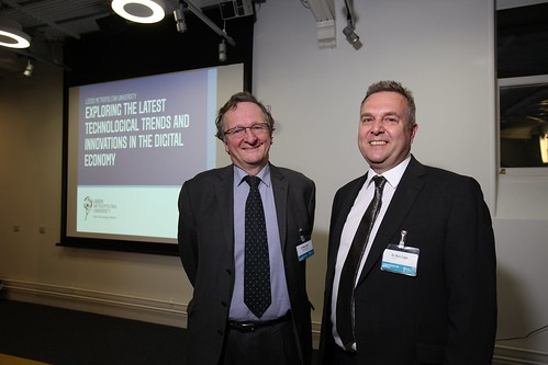 Dr Mike Short CBE and Nick Cope