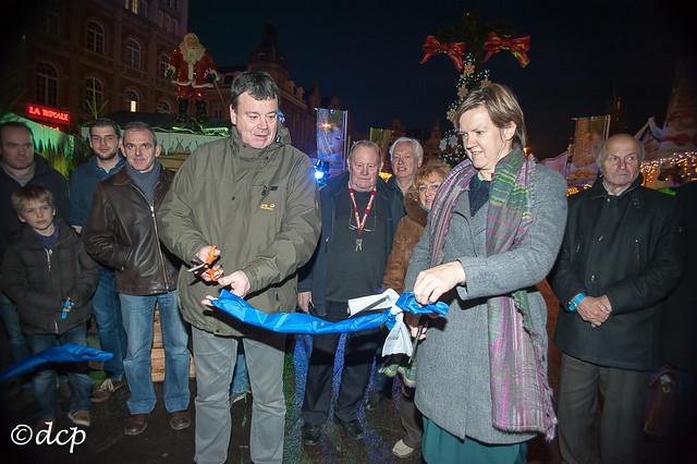 Beiers Kerstdorp Leuven: opening