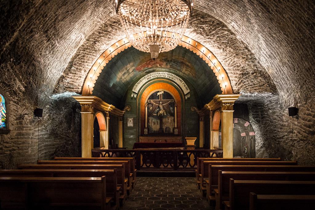 Wieliczka Salt Mine, chapel