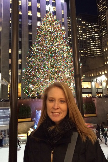 Julie at Rock Center