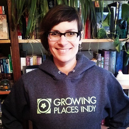 Can you tell how super excited I am to be part of the amazing Growing Places Indy team? #whatayear