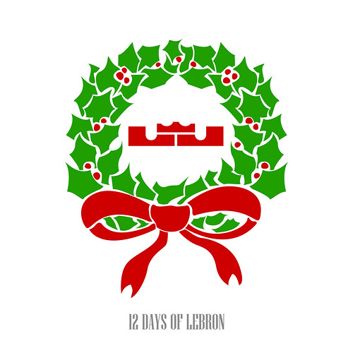 12 days of lebron