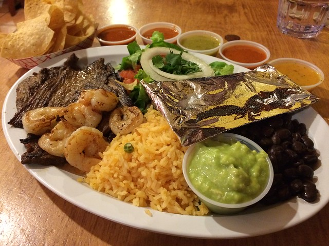Steak and prawns - Zapata Mexican Grill