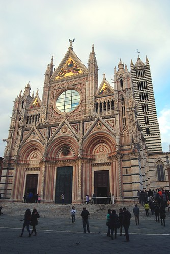 The Siena Cathedral or Duomo