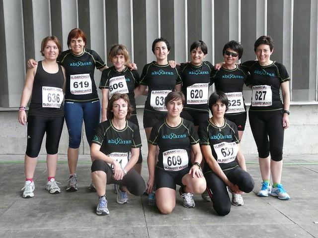 Abixaran Taldea: grupo de mujeres deportistas en Oñati