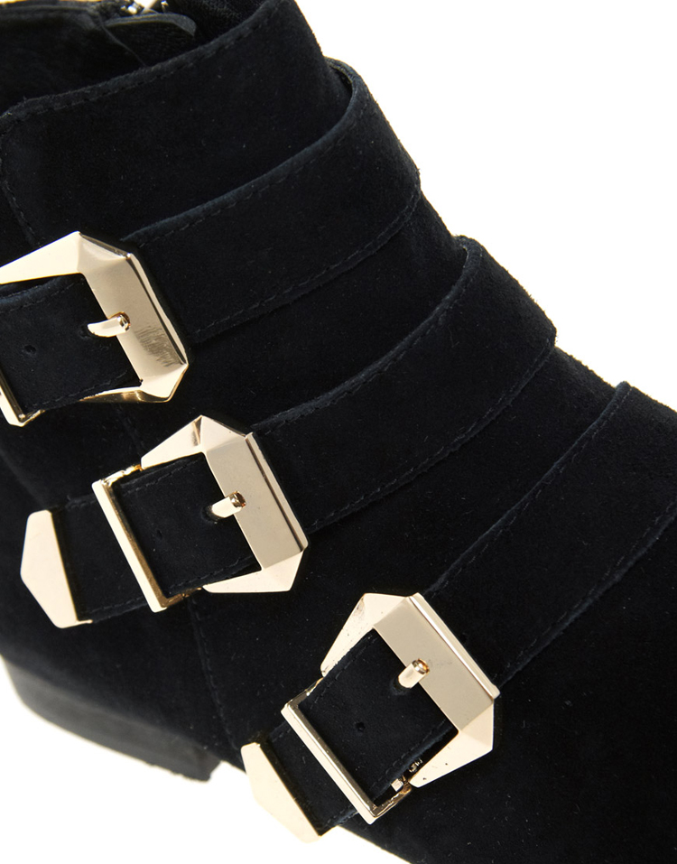 ALDO Flojoey Buckled Ankle Boots