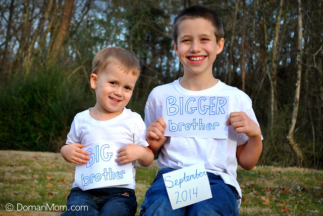 Third Child Pregnancy Announcement