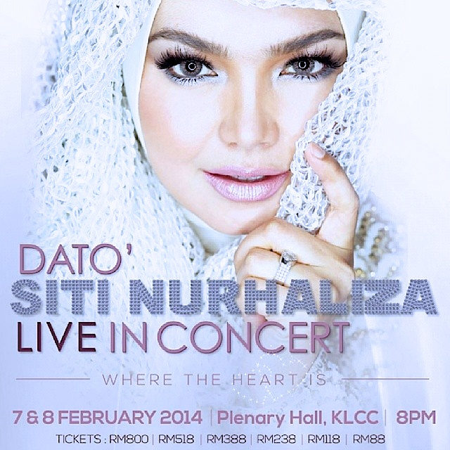Konsert Dato Siti Nurhaliza Live In Klcc Where The Heart Is