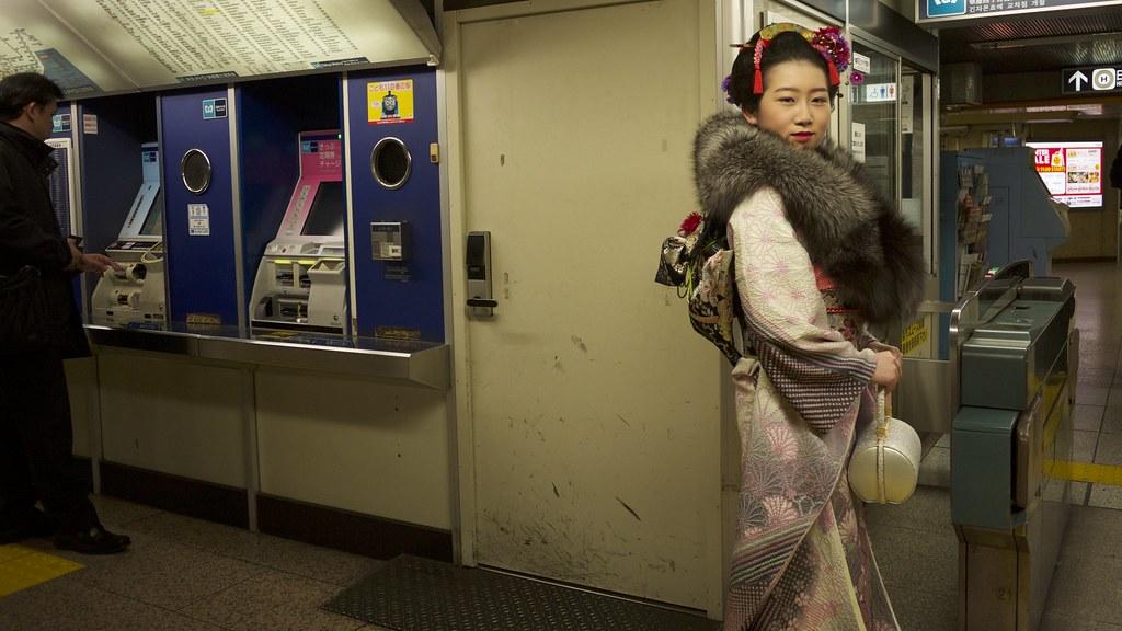Metro x Kimono