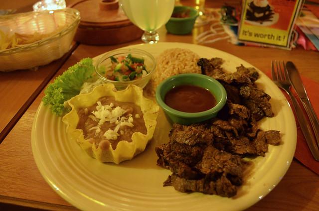 Mexico Lindo carne asada