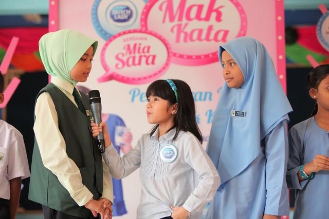 Mia Sara Asking Sk Bangsar Students About Their 'Mak Kata' Quotes
