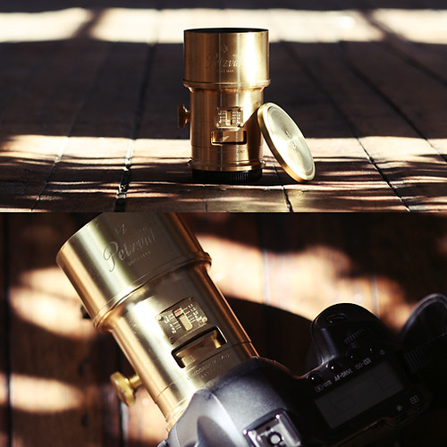The New Petzval Lens • Review Copy