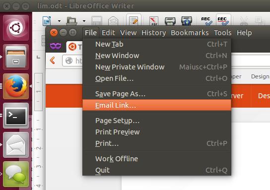 Lokale Menüs in Ubuntu 14.04 Trusty Thar