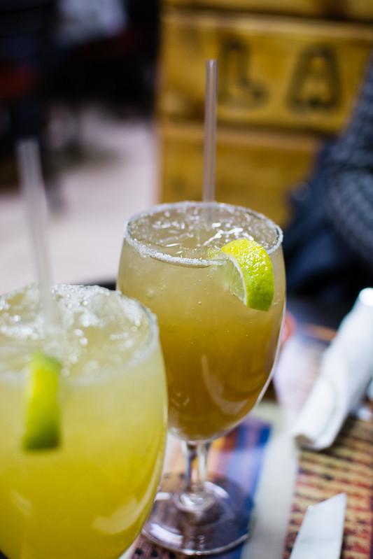 Margaritas at Las Palmas