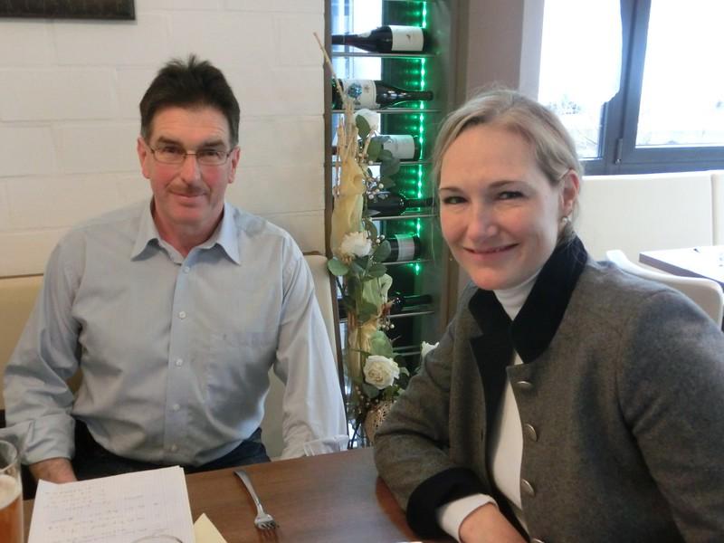 Im Gespräch mit Spitzenkandidaten der SPD Berg, Werner Streitberger