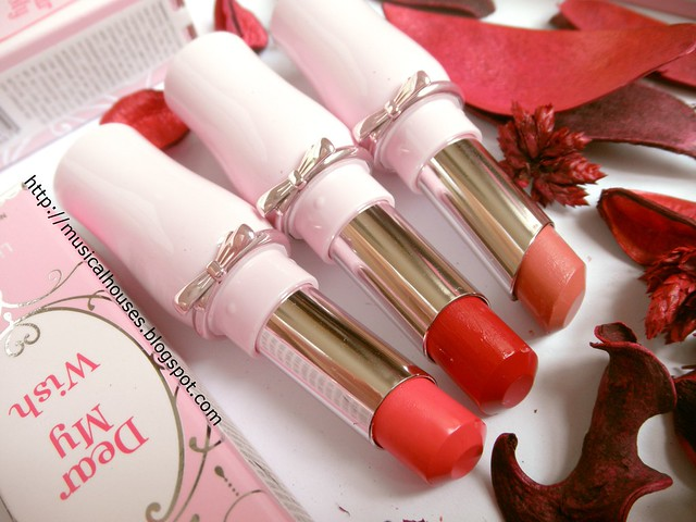 Etude House Dear My Dream Wish Talk Lipsticks 3