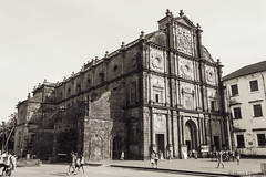 Basilica of Bom Jesus in Old Goa, India