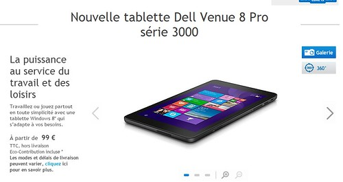 2015-02-04 21_27_26-Tablette Windows 8 Dell Venue 8 Pro _ Dell France