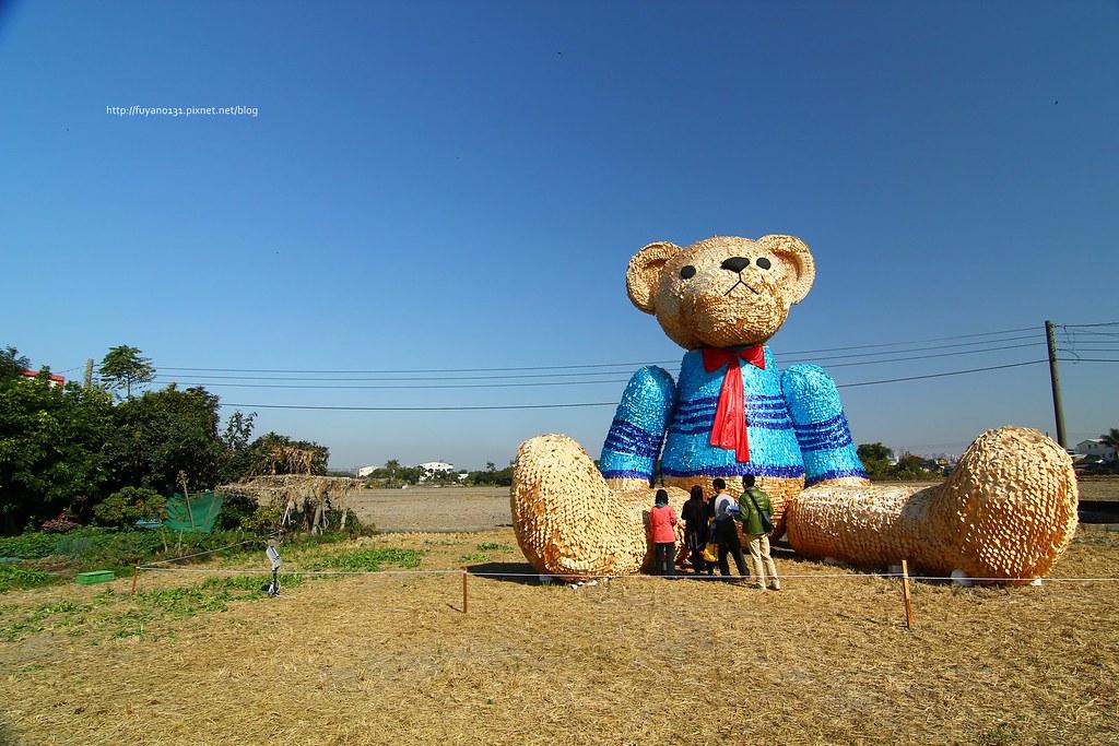 臺中地景藝術節 迷失小熊 (5)