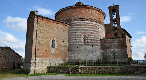 San Galgano (IT-Toscana), rotonda