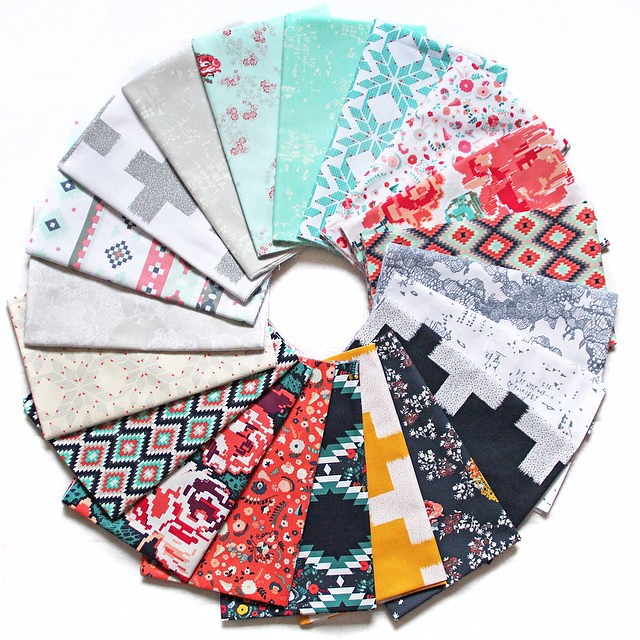 Happy circle!!!�� #RecollectionFabrics #AGF #ArtGalleryFabrics #KatarinaRoccella