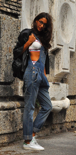 Milan Fashion Week spring/summer 2015 street style, Sara Nicole Rossetto