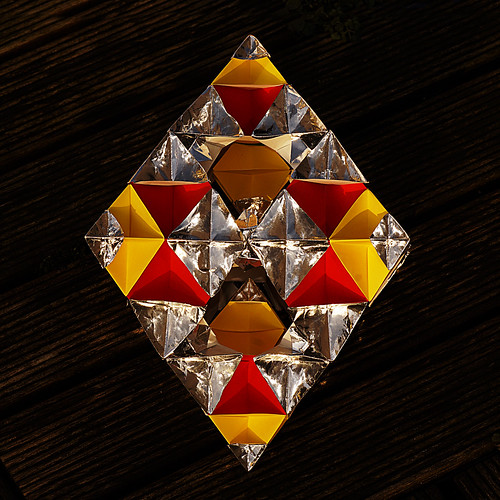 Origami Fractal Octahedron (Denver Lawson)
