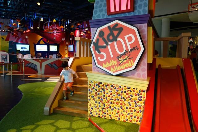 KidsSTOP at Singapore Science Centre.