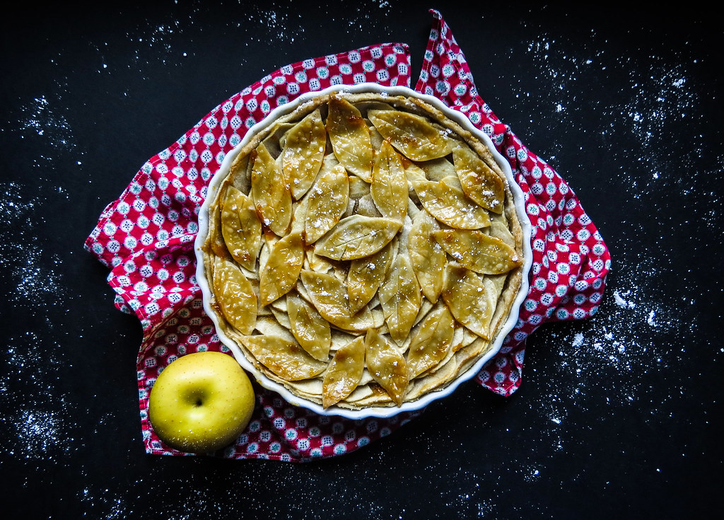 French Apple Pie Tart