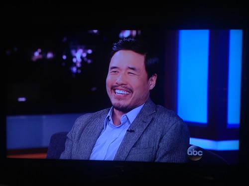 PIC: Randall Park so handsome on @JimmyKimmelLive tonight!