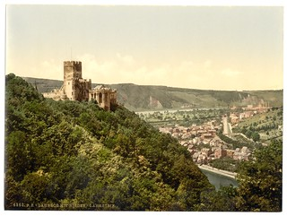 Lahneck and Nieder-Lahnstein Castle, Hesse-Nassau, Germany-LCCN2002713901
