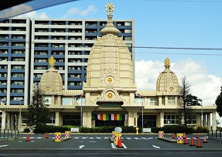Temple for traffic safety