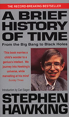 'A Brief History of Time' by 'Stephen Hawking'