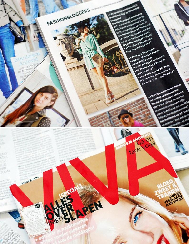 Branislava Antovic u magazinu Viva Nederland