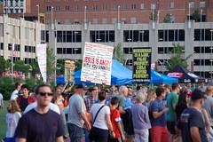 Anti-Muslim protestors